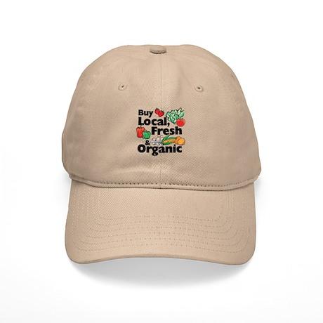 Buy Local Fresh & Organic Cap