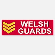 Welsh Guards Sergeant<BR> Bumpersticker 1
