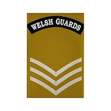 Welsh Guards Sergeant<BR> Rectangle Magnet