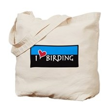 "Eco Friendly ""I Love Birding"" BIRDER BAG"