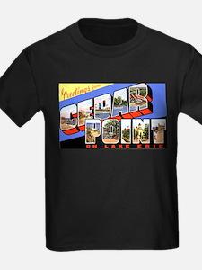 Cedar Point Ohio Greetings (Front) T-Shirt