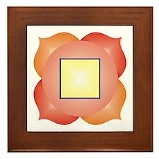 Root Chakra Framed Tile