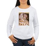 Teager Cap Pigeon Women's Long Sleeve T-Shirt