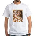 Teager Cap Pigeon White T-Shirt