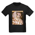 Teager Cap Pigeon Kids Dark T-Shirt