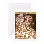 Teager Cap Pigeon Greeting Cards (Pk of 20)
