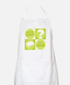 Question Authority BBQ Apron