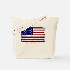 Unique Red white stripes Tote Bag