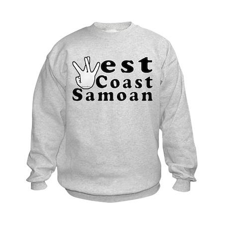 West Coast Samoan Kids Sweatshirt
