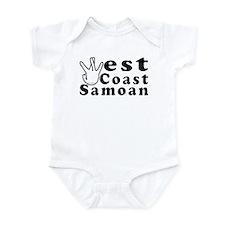 West Coast Samoan Infant Bodysuit