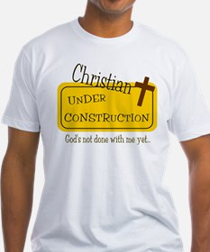 Christian Under Construction.jpg T-Shirt
