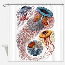 Funny Jellyfish Shower Curtain