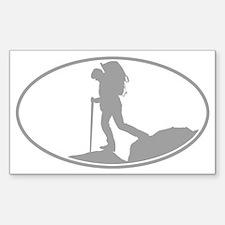 Backpacker Guy Decal