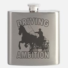 Cool Horses carriages Flask