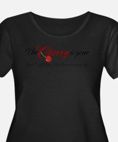 The Cherry is Gone Plus Size T-Shirt