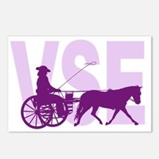 Unique Horses carriages Postcards (Package of 8)