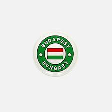 Unique Budapest hungary Mini Button