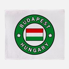 Budapest Hungary Throw Blanket