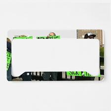 Cute Lyme awareness License Plate Holder