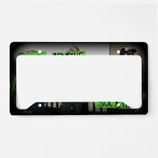 Unique Lyme awareness License Plate Holder