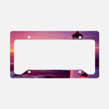 Cute Lighthouse License Plate Holder