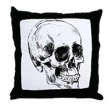 Cool Skull Throw Pillow