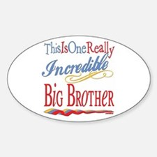 Big Brother Oval Decal