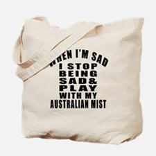 Play With Australian Mist Cat Tote Bag
