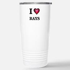 I Love Rays Travel Mug