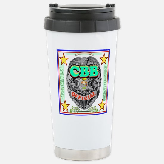Certified Beach Bum Travel Mug