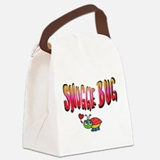 Snuggle bug Canvas Lunch Bag