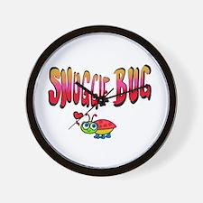 Snuggle bug Wall Clock