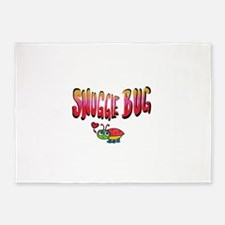 Snuggle bug 5'x7'Area Rug