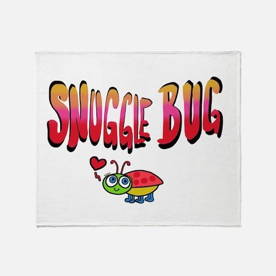 Snuggle bug Throw Blanket