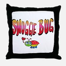 Snuggle bug Throw Pillow