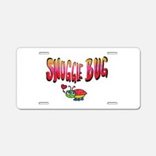 Snuggle bug Aluminum License Plate