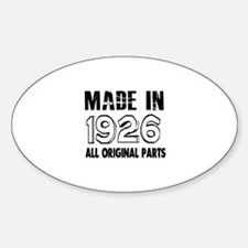 Made In 1926 Decal