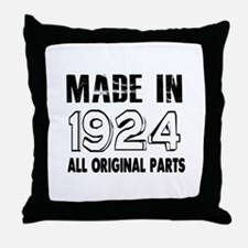 Made In 1924 Throw Pillow