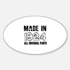Made In 1924 Decal