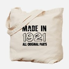 Made In 1921 Tote Bag