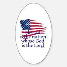 Cool God Sticker (Oval)