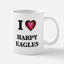 I Love Harpy Eagles Mugs