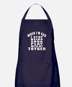 Play With Toyger Cat Apron (dark)
