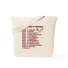 12 Steps Of Christmas Tote Bag