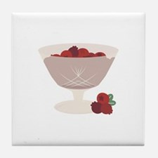 Cranberries Tile Coaster