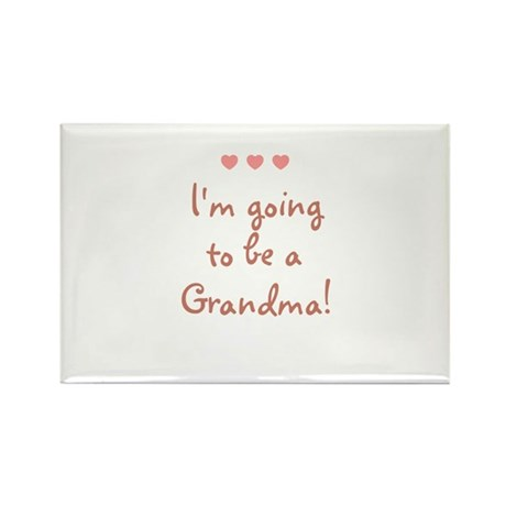 I'm going to be a Grandma! Rectangle Magnet (10 pa