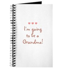 I'm going to be a Grandma! Journal