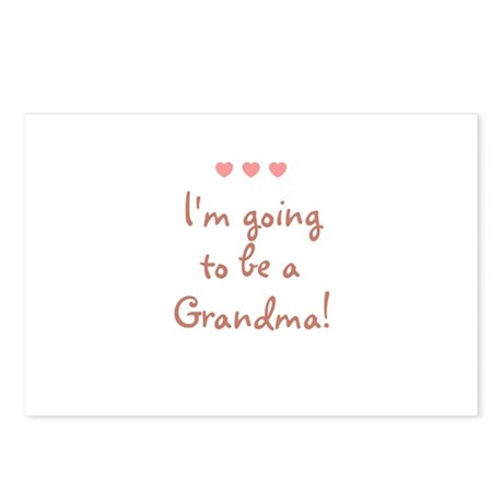 I'm going to be a Grandma! Postcards (Package of 8