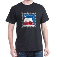 North Pole Stamp T-Shirt