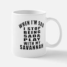 Play With Savannah Cat Mug